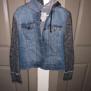 Jean|Sweatshirt Jacket